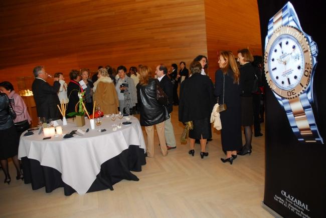Joyería Olazabal con el  bailarín Ángel Corella en el Auditorio Kursaal [14/12/2006]