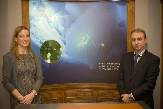 Présentation du 50e anniversaire de la Montre Rolex Submariner Date à Bijouterie Olazabal [23/11/2010]
