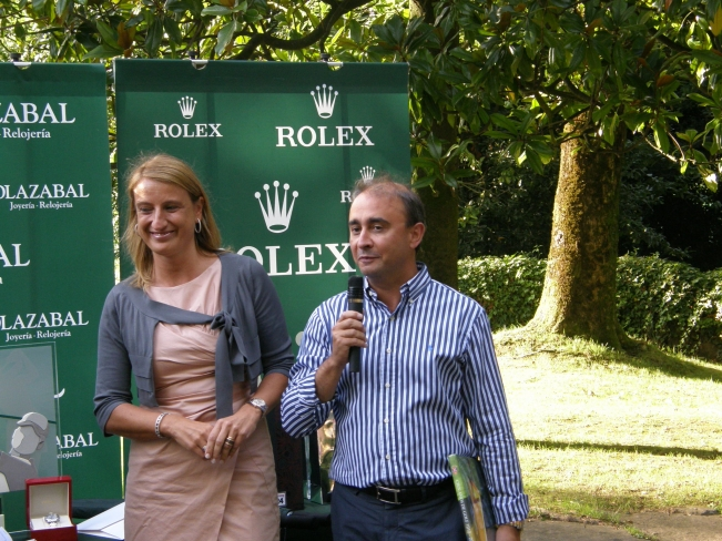 Trophée Rolex de Golf au Real Club de Golf de Saint-Sébastien [24/08/2011]