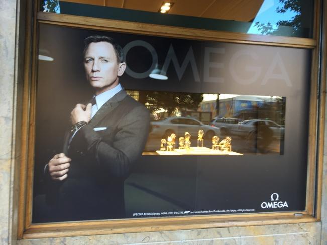 Presentación del Reloj Omega Seamaster con motivo del estreno de la última película de James Bond, Spectre [11/11/2015]
