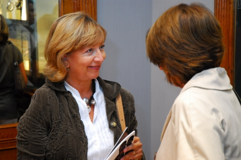 Presentation of Tudor at Olazabal Jeweller's to mark the San Sebastian International Film Festival [2007/09/14]