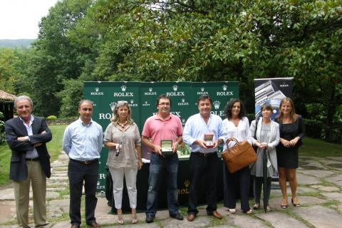 Trofeo Rolex de Golf patrocinado por Joyeria Olazabal en el Real Club de Golf de San Sebastián