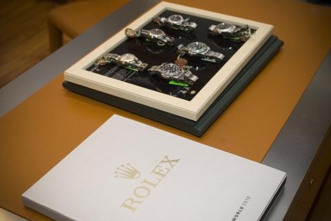 Presentación 50 aniversario del Reloj Rolex Submariner Date en Joyeria Olazabal [23/11/2010]