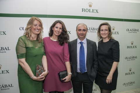"Inauguration of the ""Rolex Space"" at Olazabal Jeweller´s [2015/07/09]"